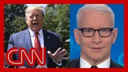 """Cooper counts Trump's flip-flops: """"Buckle up"""" 1"""