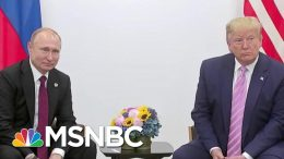 President Trump Says He Did Not Discuss Election Interference With Putin | Velshi & Ruhle | MSNBC 9