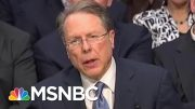 Under Oath: See The NRA Chief Own Himself On Background Checks | The Beat With Ari Melber | MSNBC 5
