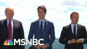 Trump's Recent Moves Raise Tensions For Upcoming G7 | Velshi & Ruhle | MSNBC 4