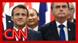 French President Emmanuel Macron slams Brazil's president over Amazon fires 1