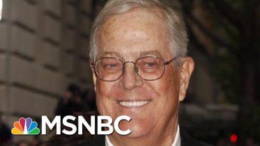 Billionaire Conservative Koch Brother, David Koch, Dies At 79   Morning Joe   MSNBC 6
