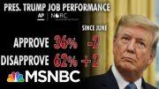 Polls Show President Donald Trump Struggling Among Key Groups | Morning Joe | MSNBC 4