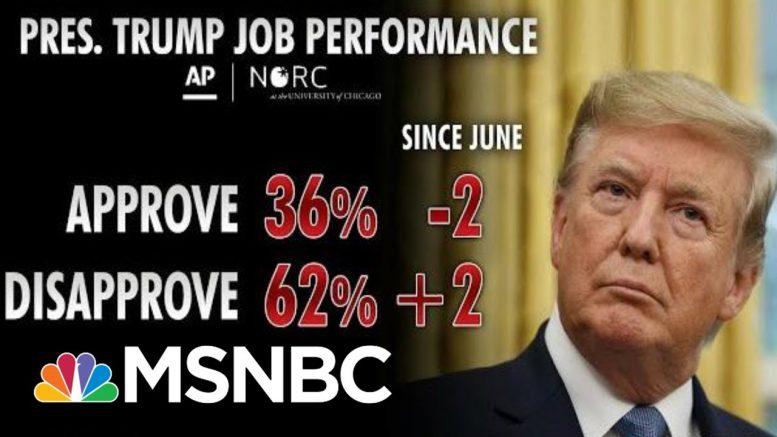 Polls Show President Donald Trump Struggling Among Key Groups | Morning Joe | MSNBC 1