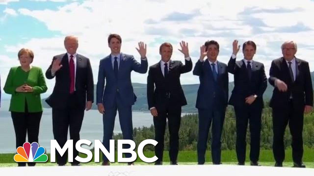 G7 Participants Brace For Potential Trump Drama | Velshi & Ruhle | MSNBC 3