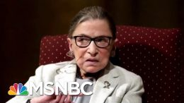 Justice Ginsburg Has Undergone More Cancer Treatment | Katy Tur | MSNBC 2