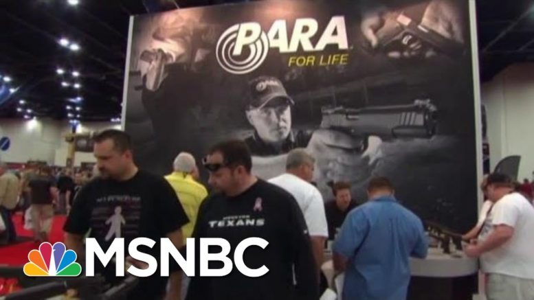 What Does It Take To Buy A Gun In America? | Velshi & Ruhle | MSNBC 1