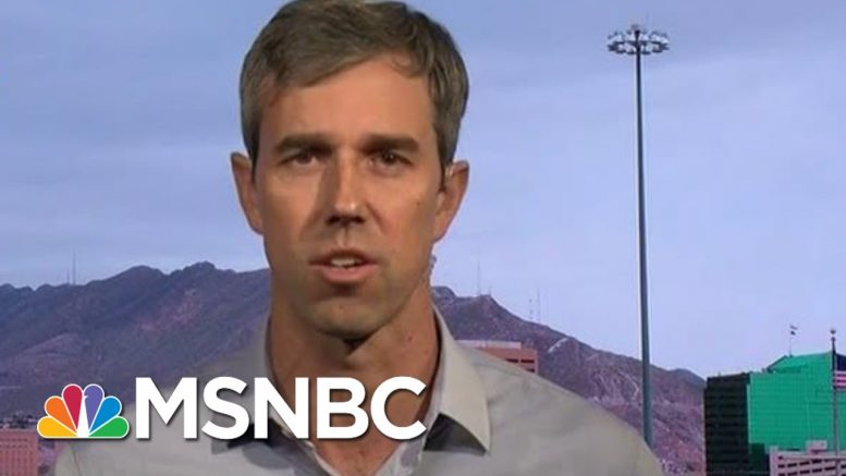 Beto O'Rourke: President Donald Trump Has Given Racism New Life | Hardball | MSNBC 1