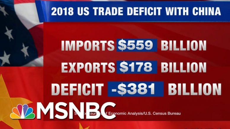 Stocks Plummet As Donald Trump Escalates Trade War With China, Attacks Fed Chair   Hardball   MSNBC 1