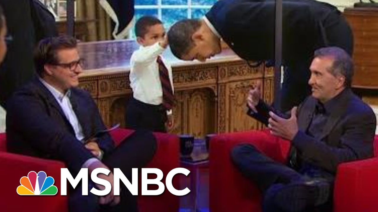 Pete Souza On Throwing 'Shade' At Trump | All In | MSNBC 7