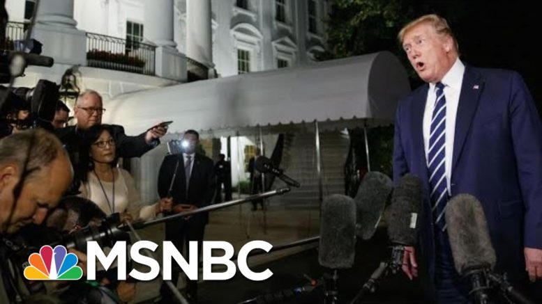 Trump Doubles Down On Claim He Can Order US Companies To Cut Ties With China | The 11th Hour | MSNBC 1