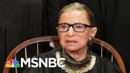 Supreme Court Reveals Justice Ginsburg Received Additional Cancer Treatment | The 11th Hour | MSNBC 1