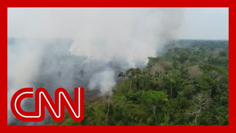 Brazil is sending 43,000 troops to fight the massive Amazon wildfire 1