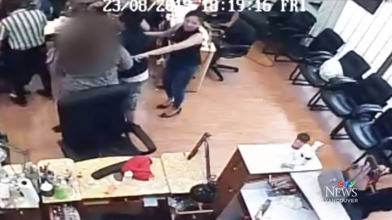 Strangers jump in after teen girl attacked at B.C. salon 9