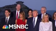 World Leaders Take 'Class Photo' At G-7 | MSNBC 3