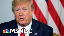 Trump Says He's Not Seeking Regime Change In Iran   MSNBC 2