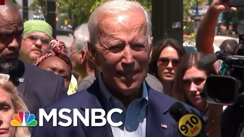 Former VP Joe Biden Defends Obama Legacy After Dems' Debate Attacks | Morning Joe | MSNBC 1
