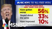 56% Of Americans Believe Race Relations Have Worsened Since 2016 | Velshi & Ruhle | MSNBC 2
