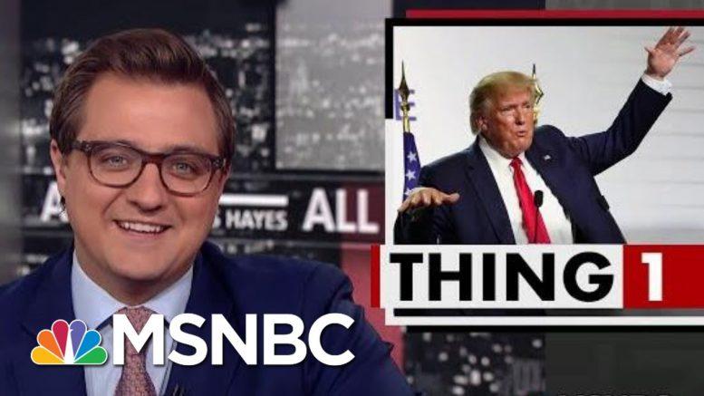 President Donald Trump's Latest Brilliant Plan: Nuke The Hurricanes   All In   MSNBC 1