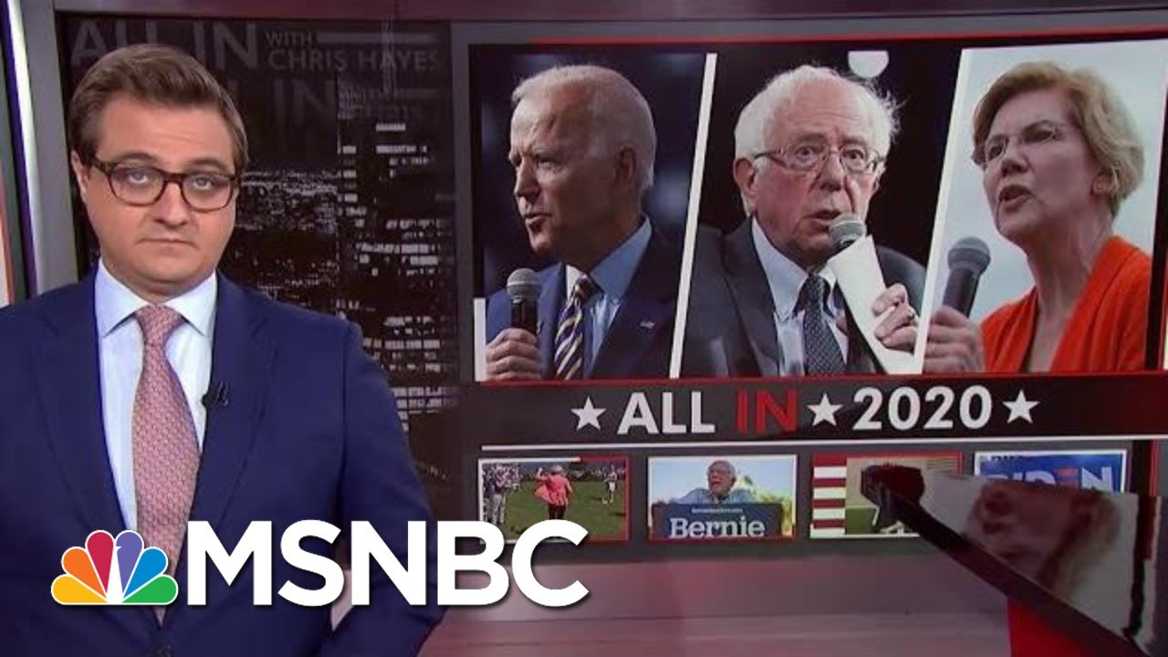 New Polls Show Top Tier In Democratic Race | All In | MSNBC 1