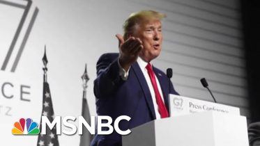 Did Trump Violate The Constitution Plugging His Own Club To Host Next G7?   The 11th Hour   MSNBC 3