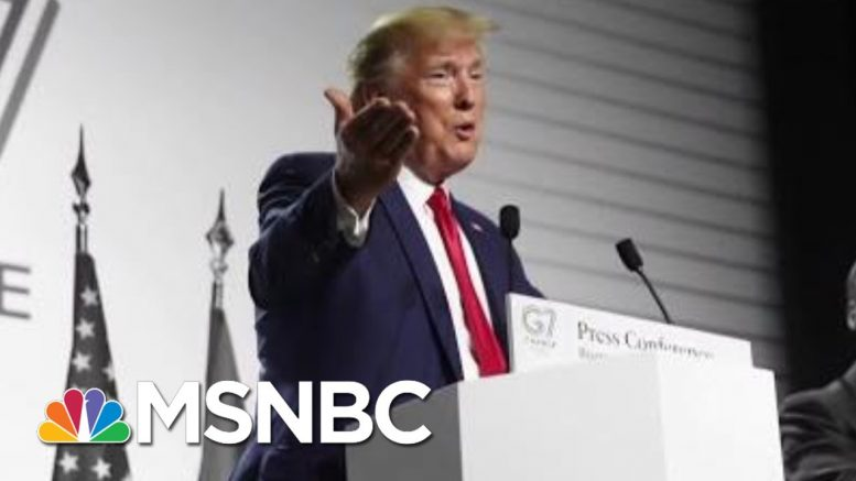 Dickey: Trump Treated G7 Like A Club He Knows He Should Be Blackballed From | The 11th Hour | MSNBC 1