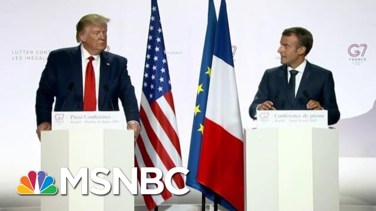 """Fmr. U.S. Amb.: G7 Leaders Treated President Donald Trump With """"Kid Gloves"""" 