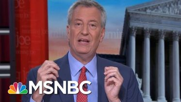 Bill de Blasio On Social Media Age: 'You Can Go From Being Obscure To Famous'   Morning Joe   MSNBC 6