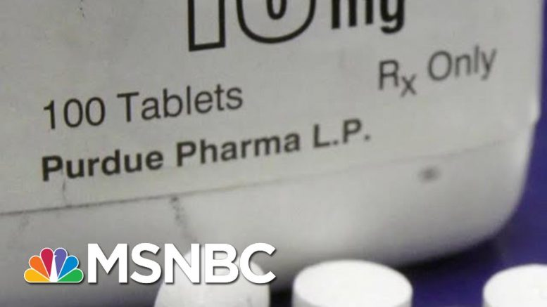 Opioid Drugmaker Purdue Pharma Offers $10-$12 Billion To Settle Lawsuits | MTP Daily | MSNBC 1