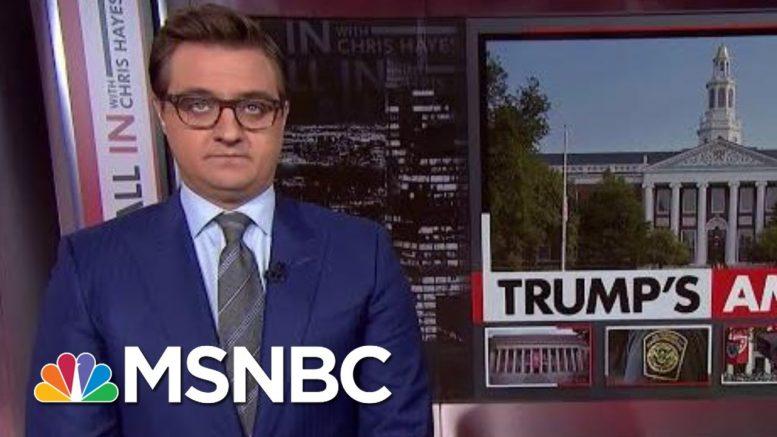 Palestinian-Born Harvard Freshman Denied Entry Into U.S. | All In | MSNBC 1