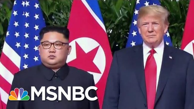 Rpt: North Korea Appears To Be Building New Ballistic Missile Submarine | The Last Word | MSNBC 1