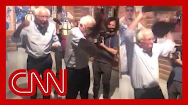 Watch Bernie Sanders' punch backfire 6