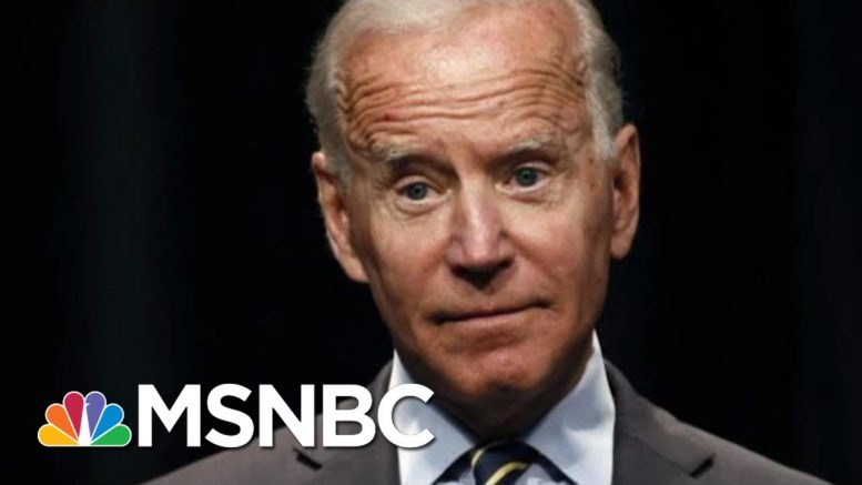 Joe Biden Maintains Lead In Democratic Primary Field | Morning Joe | MSNBC 1