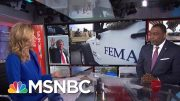 Trump Pulling FEMA Money For Border Wall As Puerto Rico Braces For Storm | Velshi & Ruhle | MSNBC 5