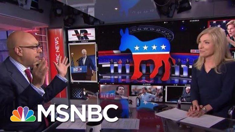 All Top Democrats Beat President Donald Trump In New Quinnipiac Poll   Velshi & Ruhle   MSNBC 1