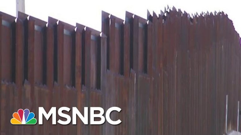 White House: Trump Is Joking When He Talks About Border Wall Pardons   Velshi & Ruhle   MSNBC 1