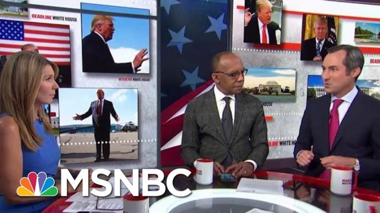 The Stunning And Possibly Illegal Lengths Trump Is Willing To Go To Get His Wall | Deadline | MSNBC 1