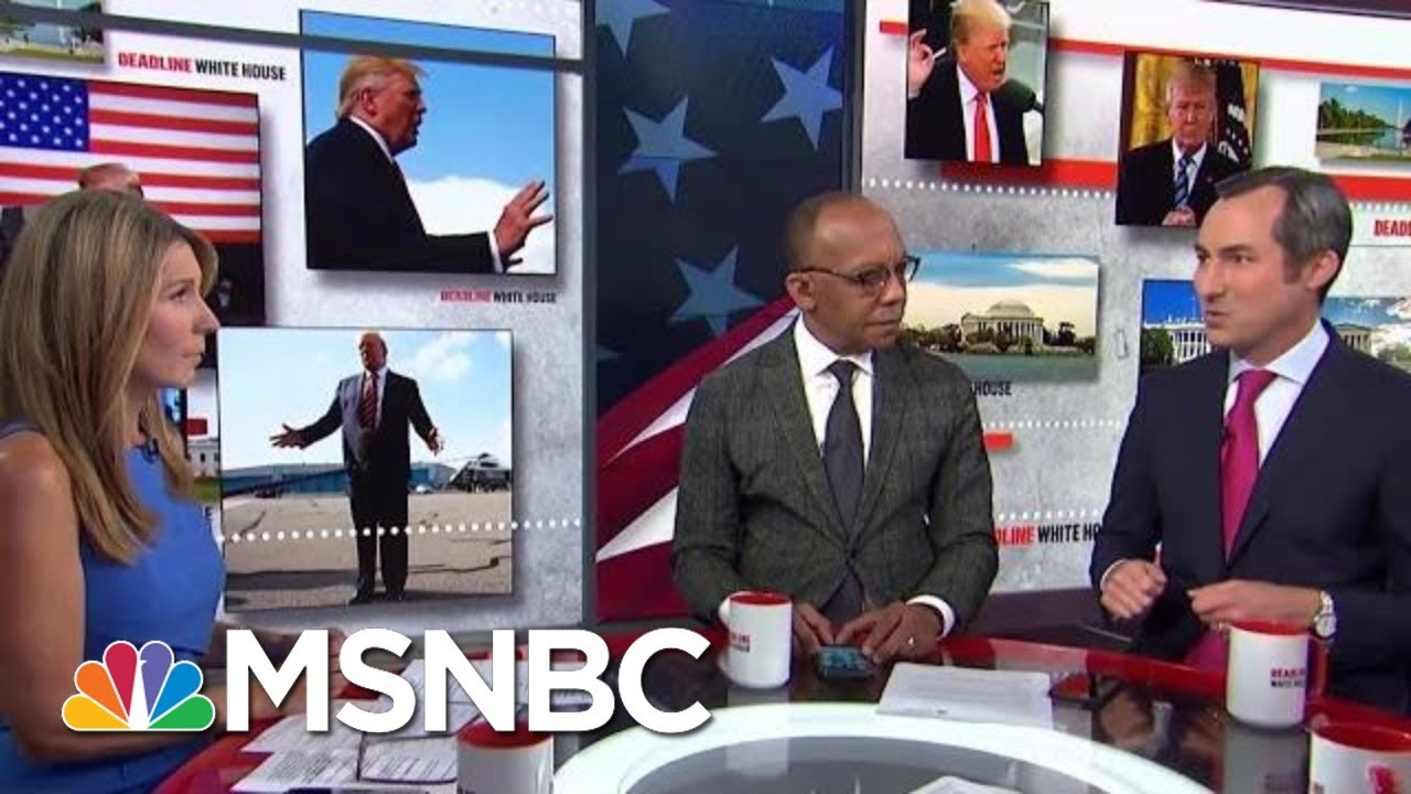 The Stunning And Possibly Illegal Lengths Trump Is Willing To Go To Get His Wall   Deadline   MSNBC 1
