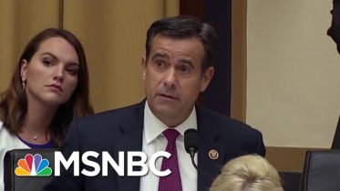 Trump Announces Rep. John Ratcliffe Has Withdrawn From DNI Chief Nomination   Katy Tur   MSNBC 10