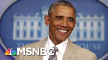 Remembering Barack Obama's Biggest Scandal: The Tan Suit | All In | MSNBC 6