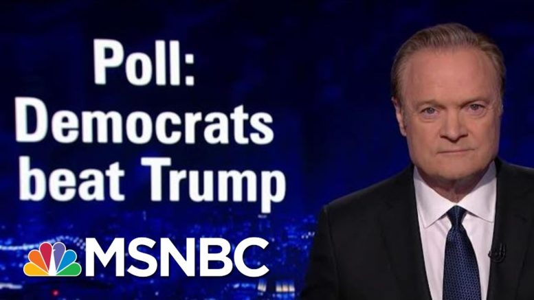 Top Dems Beat President Donald Trump Handily In New Head-To-Head Polls | The Last Word | MSNBC 1