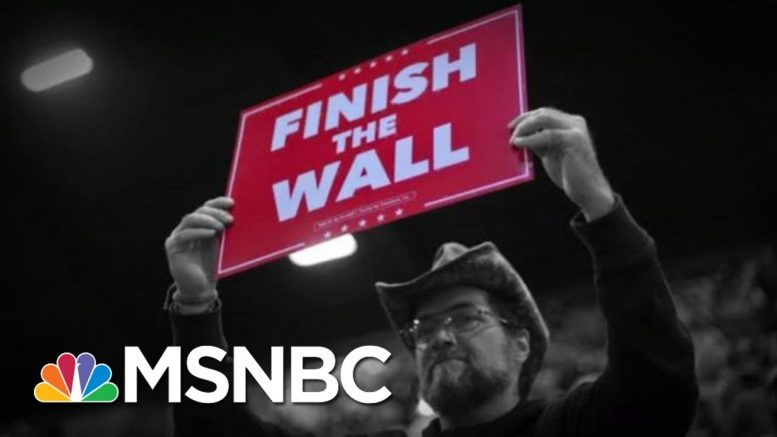 Trump Attacks WAPO After Report About Pardon Promises Tied To Border Wall   The 11th Hour   MSNBC 1