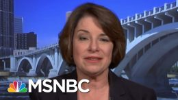Senator Amy Klobuchar: Election Security Is A Joke To Donald Trump | Velshi & Ruhle | MSNBC 3