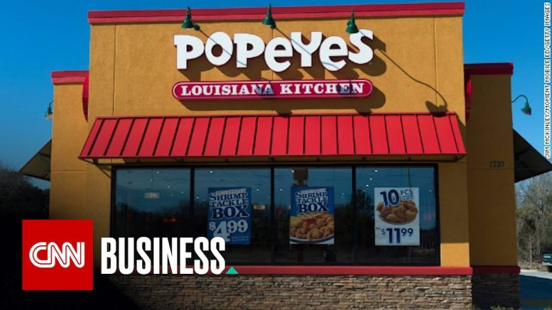 Popeyes: We made one mistake with chicken sandwich roll-out 1