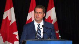 "Scheer accuses Trudeau of ""distracting Canadians"" 9"