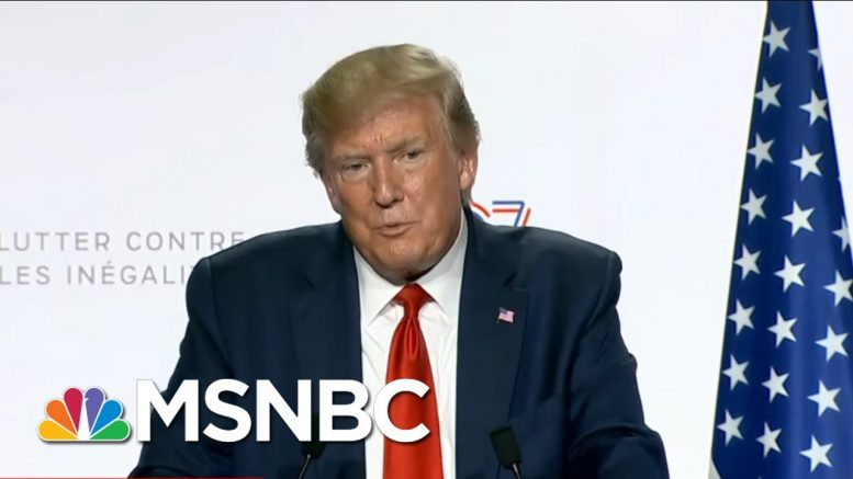 House Dems To Probe Trump's Push To Host Summit At His Resort | The Beat With Ari Melber | MSNBC 1