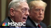Atlantic: Mattis Found Trump To Be Of Limited Cognitive Ability, Dubious Behavior | Hardball | MSNBC 3