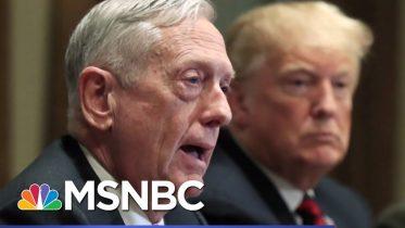 Atlantic: Mattis Found Trump To Be Of Limited Cognitive Ability, Dubious Behavior | Hardball | MSNBC 6
