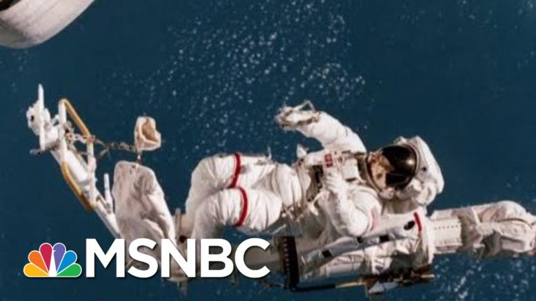 President Donald Trump Gets Us One Step Closer To Space Force | All In | MSNBC 1
