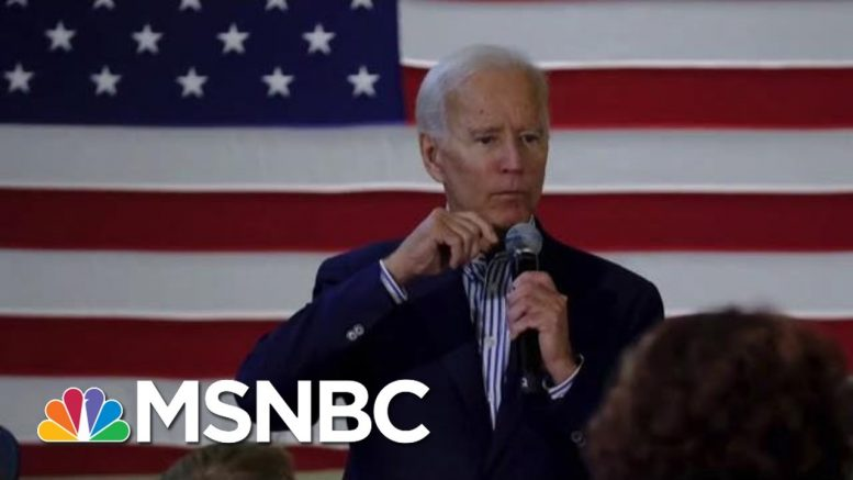 Joe Biden Gets Facts Wrong In War Story, But Will It Hurt Him? | Morning Joe | MSNBC 1